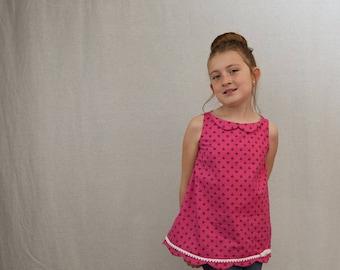 Girls A-Line Dress and Tunic PDF Pattern ... Jane's Plain Dress & Tunic Top