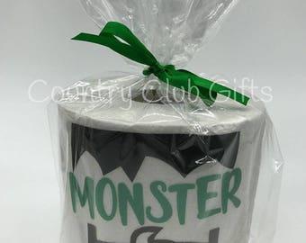Halloween Toilet Paper, decoration. funny, joke, TP prank, humorous, spooky poo, poop emoji, Fall decor, bathroom