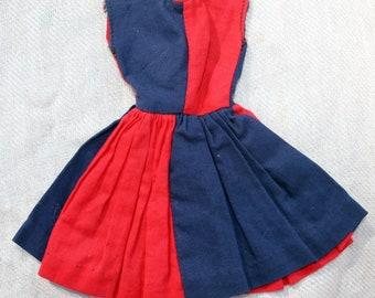 "1960's Barbie Clone Dress Babs Wendy Clone 11"" fashion dolls"