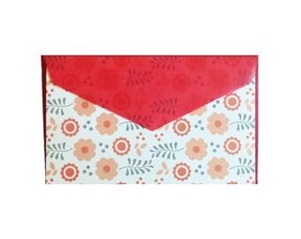 Mini Flower Folk Art Cards - Set of 4