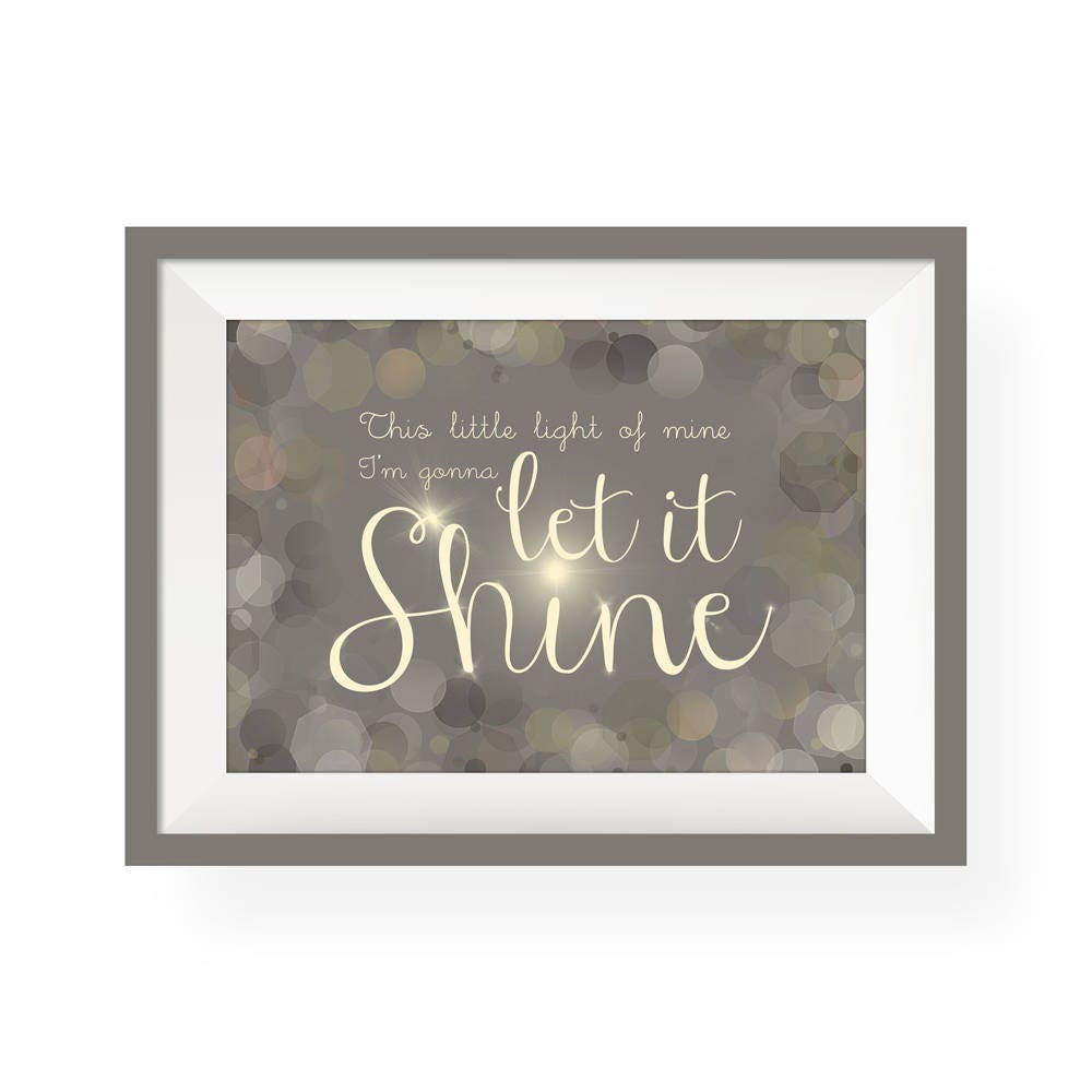 This Little Light of Mine | Giclee
