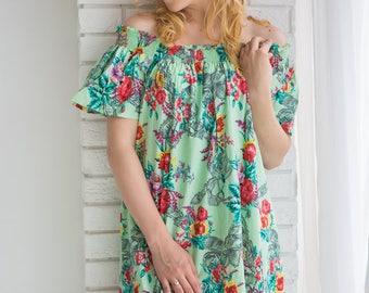 Mint off the shoulder Maxi Dress| Summer Dress| Workwear| Sundress| Long Dress| Boho Dress| Maxis| Street Style