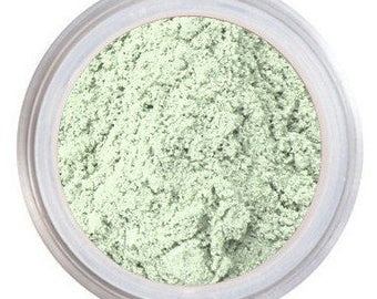 Color Corrector, Mint Concealer, Green Concealer, Neutralizes Redness, For Acne, Rosacea, Mineral Makeup, Color Correcting Concealer
