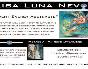 Energy Painting Live Events - Package A