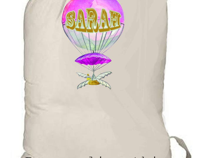SUMMER CAMP BAG, personalized bags, kids weekend bag, kids beach bag, graduation gift, grad gift, college laundry bag, family beach bag