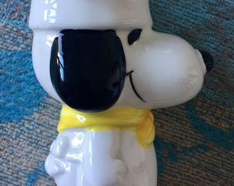 Vintage Snoopy egg cup