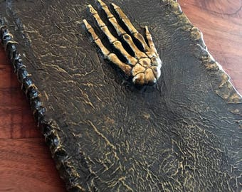Skeletal Hand Sketchbook