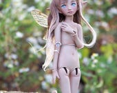 porcelain bjd fairy, 6 inch tall miniature artdoll, little minion doll by lady meow