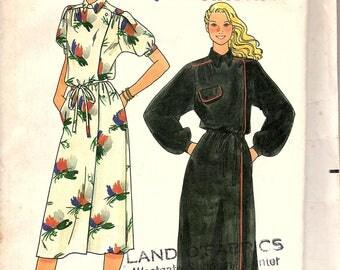 Butterick 6671 Women's Dress