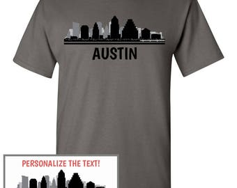 Austin tx etsy for Custom t shirts austin texas