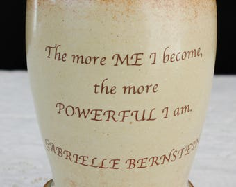 Be Yourself Gabby Bernstein's More Me Words of Wisdom Cup or Mug