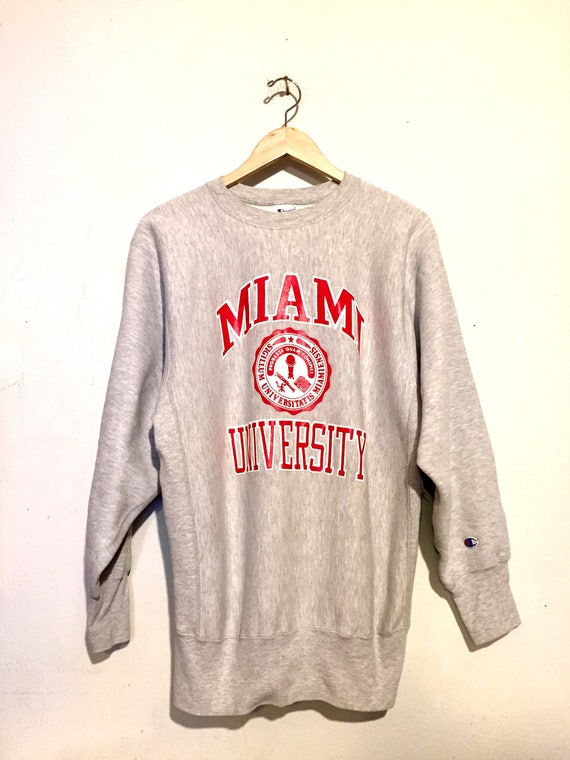 Champion Reverse Weave Miami University Sweatshirt