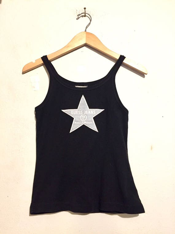 90s Vintage Guess Hollywood Tank Top