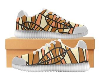Leaf Art LED Light Up Shoes | Boys Girls & Womens Sizes | High Stretch Upper | EVA + Mesh Fabric Insole | 7 Colors | Bold Design | Fashion