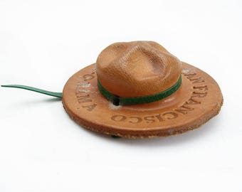 Miniature Campaign Hat, Scout-O-Rama, San Francisco