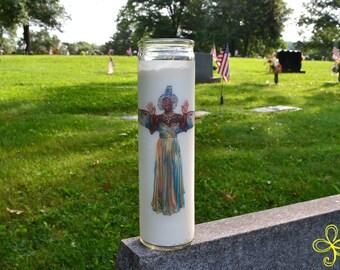 Isis Pagan Prayer Candle