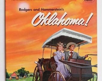 "Musical ""Oklahoma"" Vinyl Soundtrack (1955) - Very Good Condition"