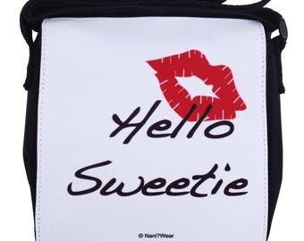 Doctor River Song Who Small Messenger Bag Hello Sweetie