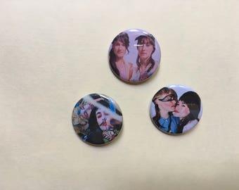 CocoRosie Pin Set  Pinback Button Pin Badge x3