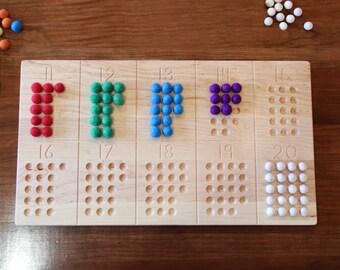 11-20 Number Board