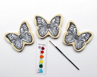 Butterfly  Painting Kit  - Paint Your Own Art Kit