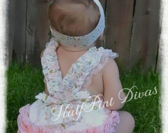 Girls Toddler Romper Bubble
