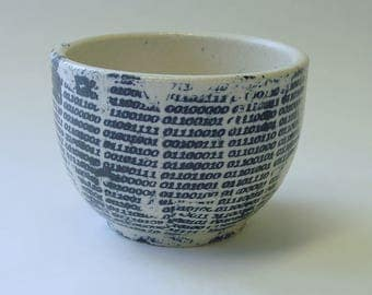 Binary Tears in Rain Lithographed Cup