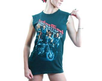 Vintage Judas Priest Shirt RAM it DOWN 1988 Tour Concert Shirt Band Tee Heavy Metal Shirt Black Sabbath Shirt Iron Maiden Shirt Metallica M