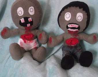 zombie and zombie baby!  available in an array of colors