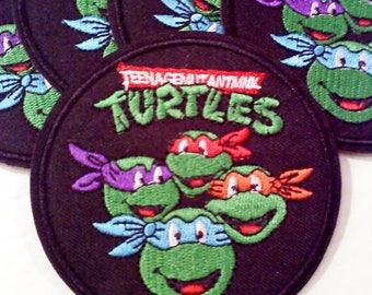 Teenage Mutant Ninja Turtles Inspired Iron On/Sew on Patch- Group