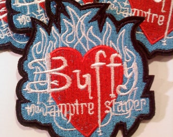Buffy the Vampire Slayer Iron on Patch