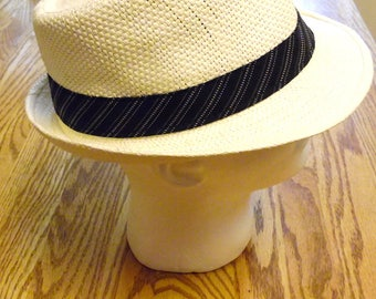 Fedora Hat Cream Ivory Mens Trilby