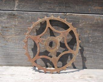 Vintage Skiptooth Bicycle Sprocket, Vintage Bicycle Parts