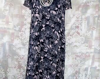 Women Printed Chiffon Maxi Dress #KheGreen