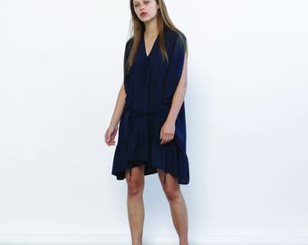 Big Summer Sale Galla dress - Blue navy ,Summer party dress ,