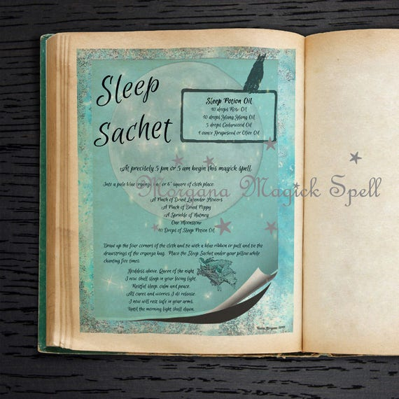 Sleep Sachet Spell