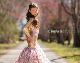 Girls mermaid dress, sequin dress