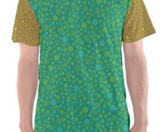 Animal Crossing Grass Design Shirt All Over Print Pocket Camp Mobile Game Leaf Gamer Gift Aesthetic