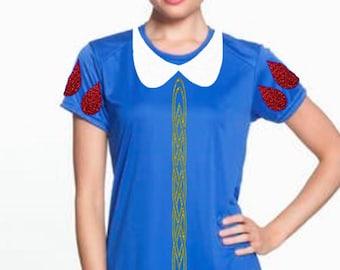Snow White Shirt, Snow White Costume, Snow White Run Disney Shirt, Snow White Performance Shirt, Snow White Run Disney Outfit, Snow White