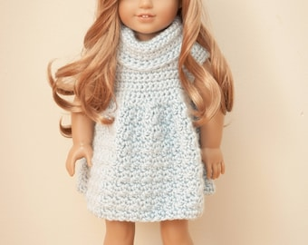 Kennedy's Sweater Dress for 18 Inch Dolls