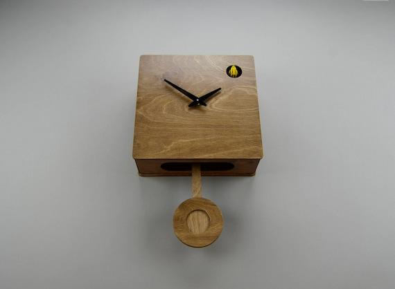 Cuckoo Clock, Modern Wall Clock, Quercus