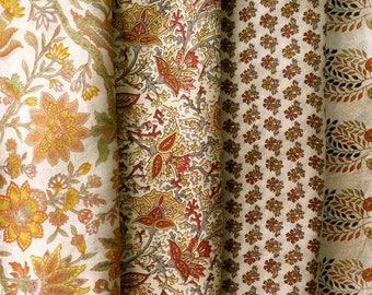 Fat Quarters, Silk Fabric, Sari Silk, FQ 187