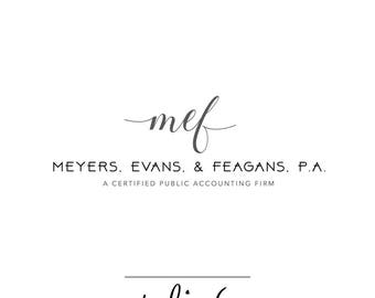 Custom Business Logo Design-Accounting CPA Logo Design-Logo Branding Package