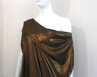 BURBO 'Instinct Gold' Tunic dress