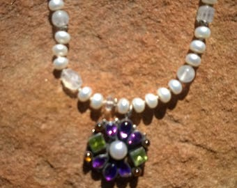 Vintage Leo Feeney/Don Lucas White Pearl Necklace