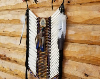 Traditional Native Breast Plate Pow wow Dancer