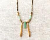 SALE - ARQIL Necklace - Amazonite OOAK necklace
