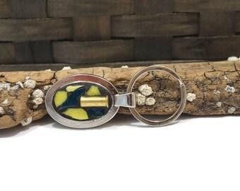Mosaic Gun Shell Casing Key Chain