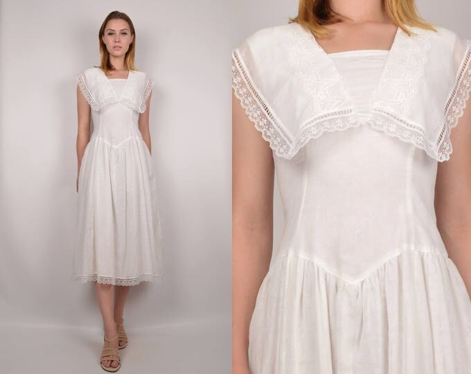 70's Gunne Sax Sailor Dress