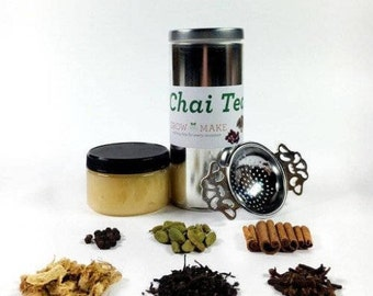DIY Artisan Decaffeinated Chai Tea Kit